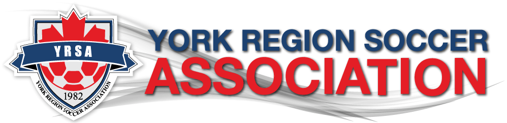 York Region Soccer Association Logo